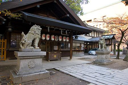 那古野神社拝殿