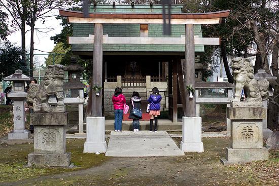 七所社と御田神社
