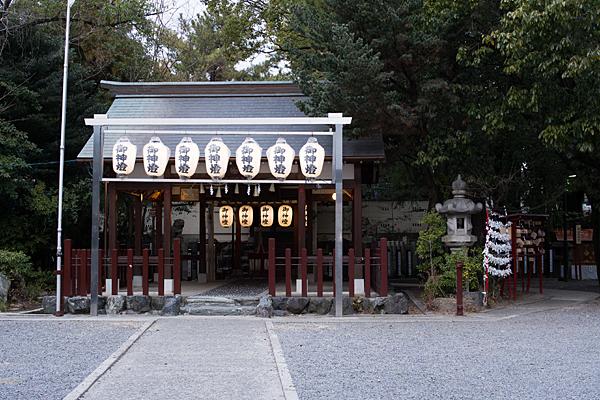 別小江神社拝殿