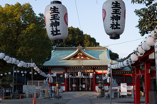 生玉稲荷神社拝殿