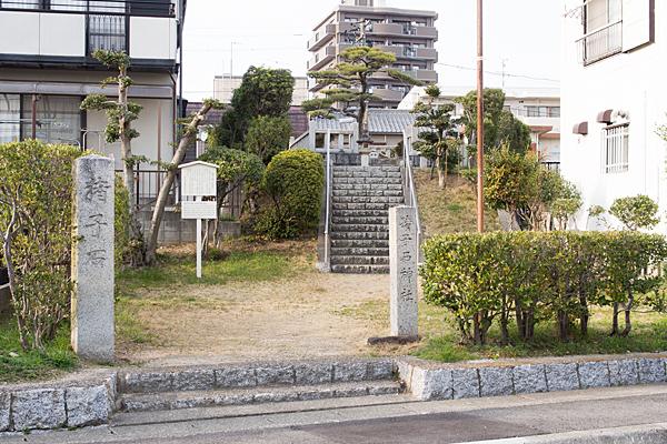 猪子石神社全景