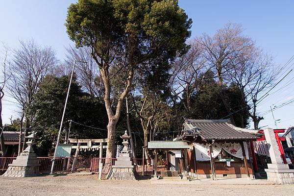 お福稲荷社・山神社・白竜社