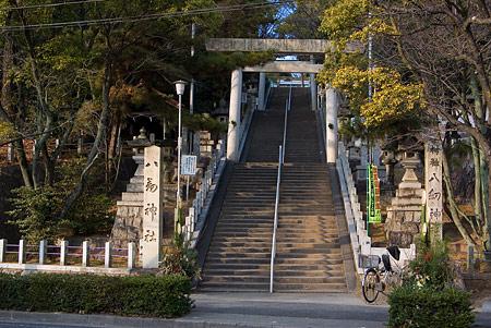 大森八劔神社階段下