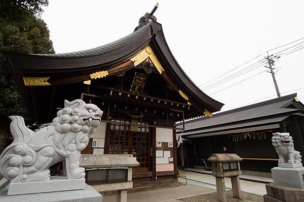 神明社・八幡社合殿・杉ノ宮神社