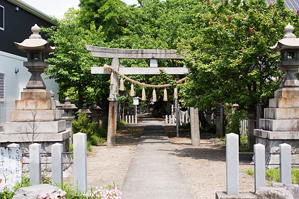 日比津白山神社