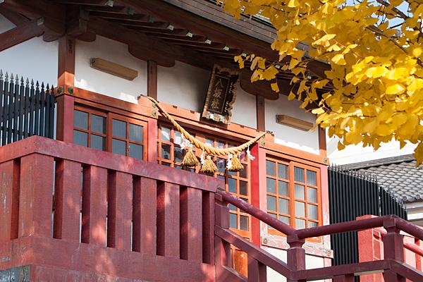 上野八坂社