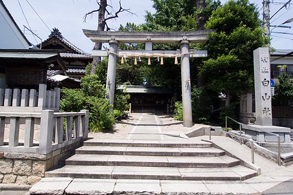 石仏白山社