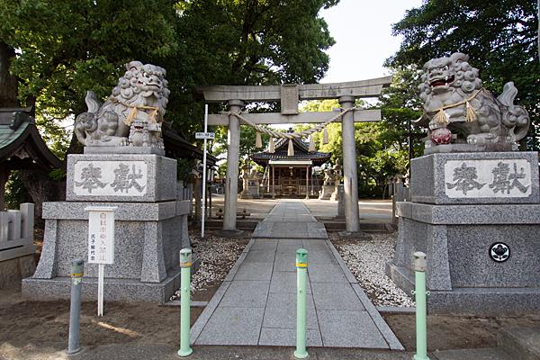 東八幡社(中根)