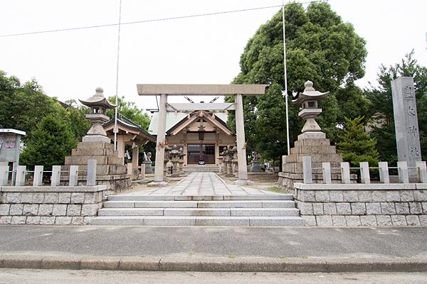 西中島皇太神社