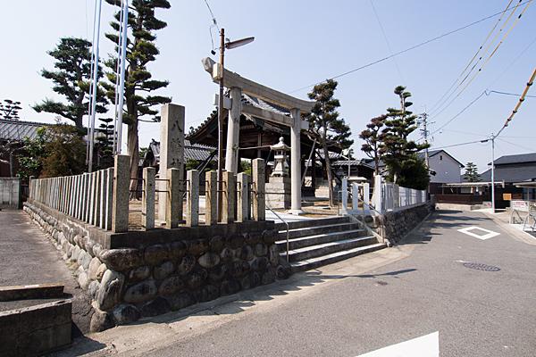 平中町八幡社