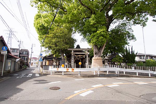 神堀越白山社