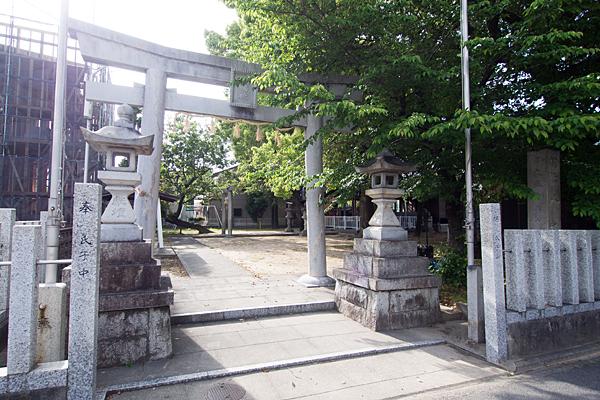 新福寺町八幡社