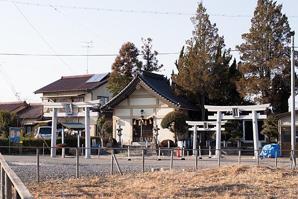 諏訪神社・三十番神・吉嶽稲荷神社