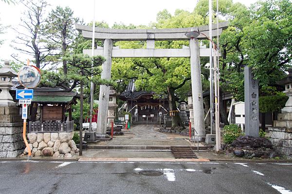 名塚白山社