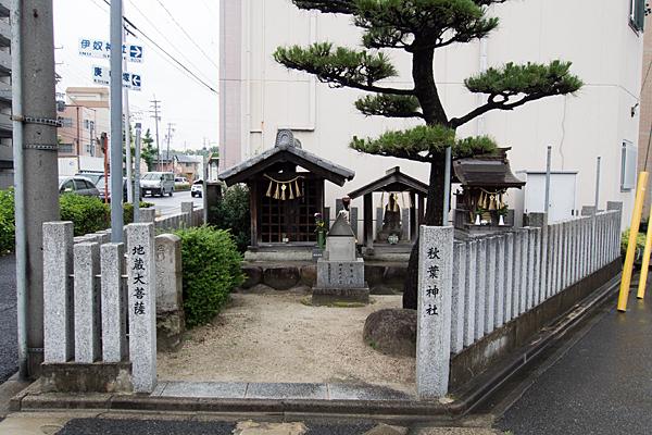 庄内通4秋葉神社
