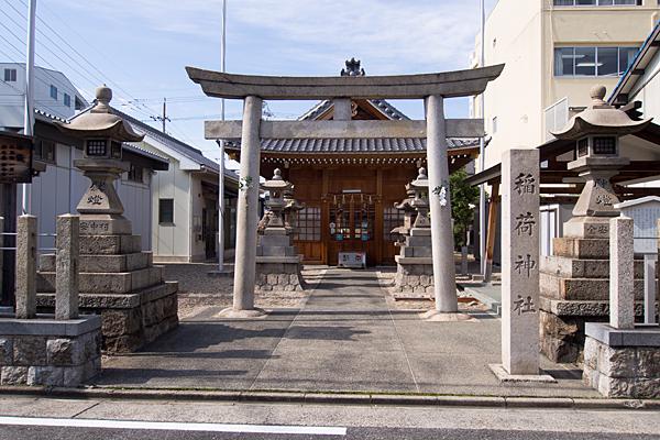 辰巳町稲荷社