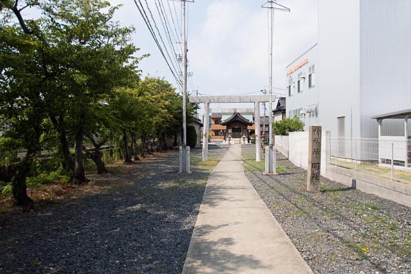 東蟹田神明社