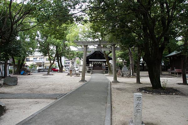 矢田の白山社